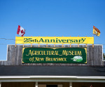 Exterior of the Agricultural Museum of New Brunswick