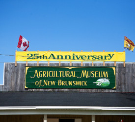 (English) Exterior of the Agricultural Museum of New Brunswick