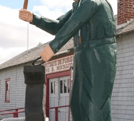 (English) Musée de la Forge Jos B. Michaud (Blacksmith Museum)