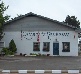 Exterior of the Quaco Museum