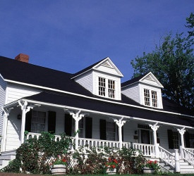 Exterior of the Queens County Heritage – Tilley House