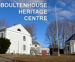 The exterior of the Boultenhouse Heritage Center