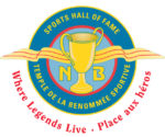 The New Brunswick Sports Hall of Fame's logo .