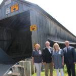 L'Association du patrimoine du Nouveau‑Brunswick annonce qu'une deuxième édition annuelle de la journée «Aime tes ponts couverts» aura lieu le 4août.